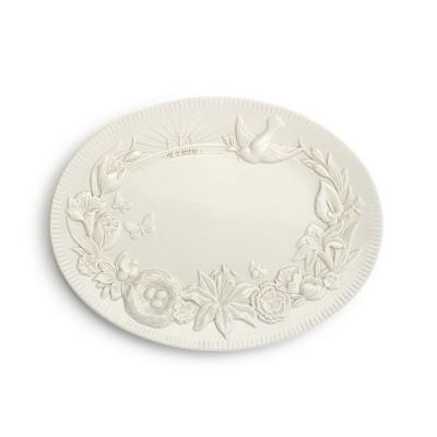 DEMDACO Spring Platter White