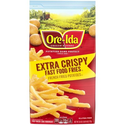 Ore-Ida Extra Crispy Frozen Fast Food Fries - 26oz