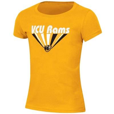 NCAA VCU Rams Girls' Short Sleeve Scoop Neck T-Shirt