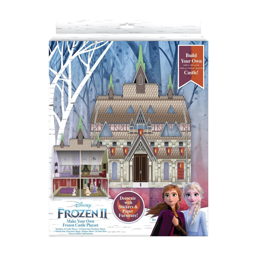 Image of Frozen 2 Make your Own Paper Castle Craft Project
