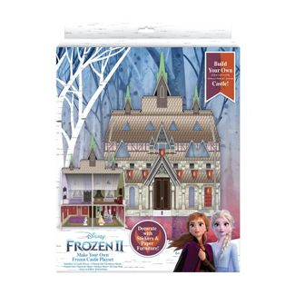 Frozen 2 Make your Own Paper Castle Craft Project