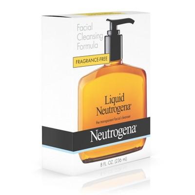 formula cleansing liquid Neutrogena facial