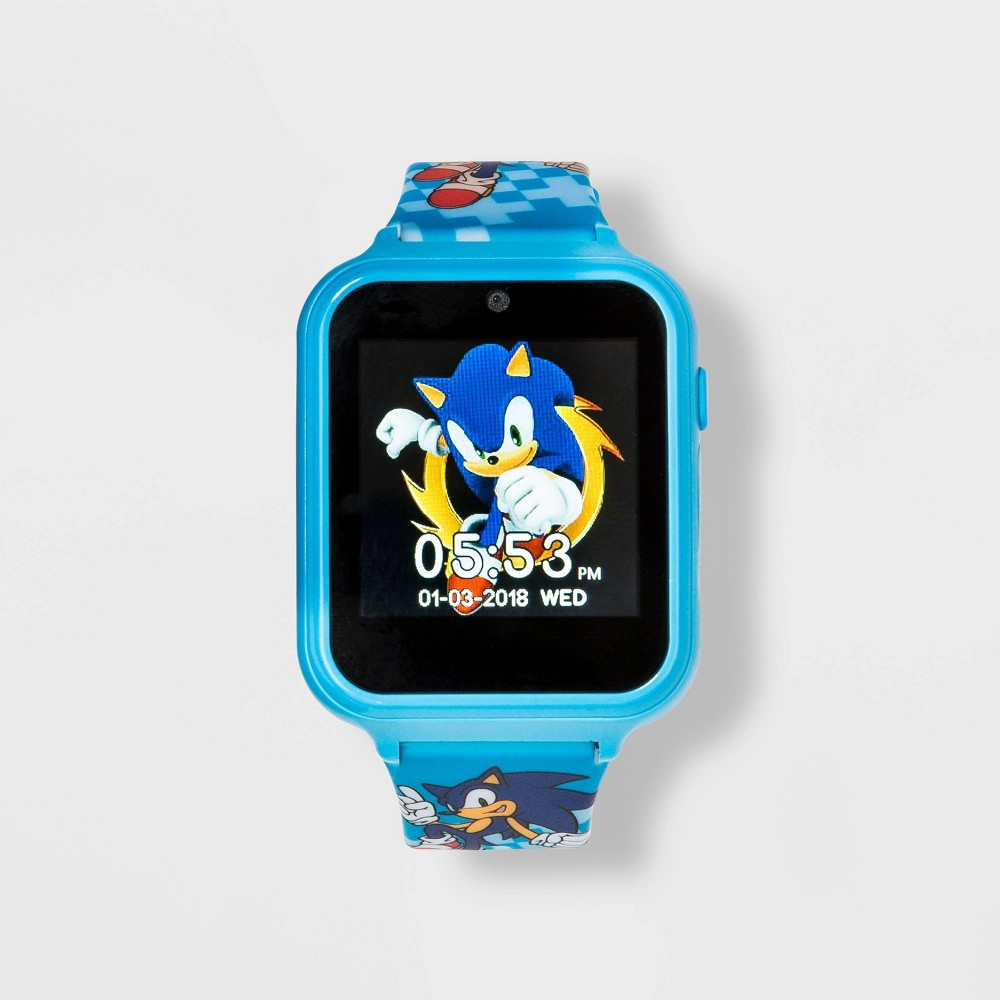 Image of Boys' Sonic iTime Interactive Watch - Blue, Men's, MultiColored