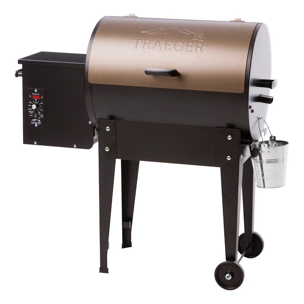 Traeger Junior Elite Wood Pellet Grill - Model TFB29LZA, Black