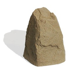 Algreen Receptacle Rock Cover and Decorative Outdoor Garden Accent, Sandstone
