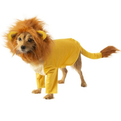 The Lion King Simba Pet Costume