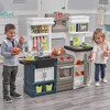 Step2 Plastic Pretend Play Modern Metro Kitchen Set with Utensil Accessories - image 4 of 4