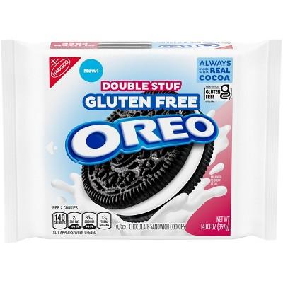 Oreo Double Stuf Gluten Free Family Size - 14.03oz
