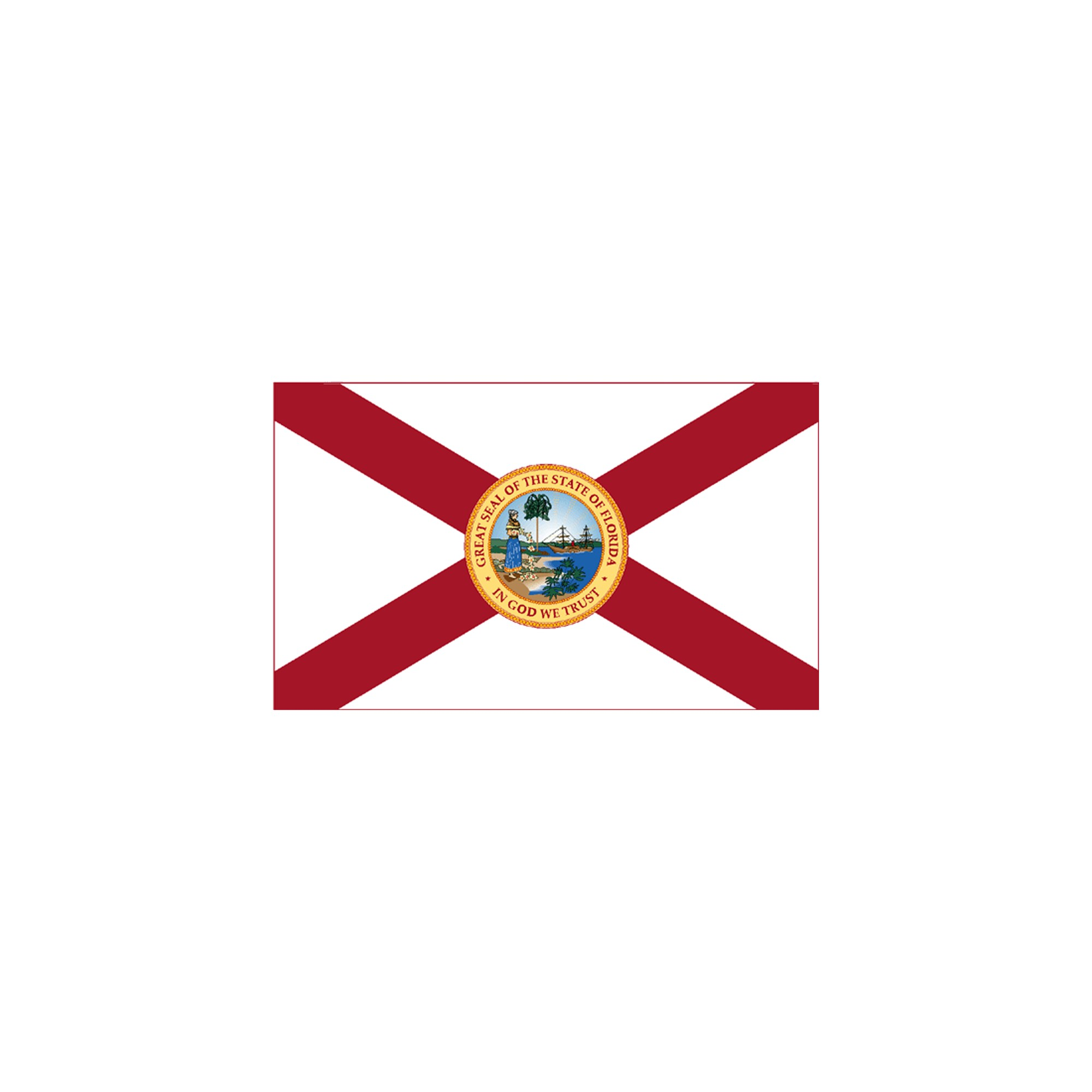 Halloween Florida State Flag - 3' x 5'