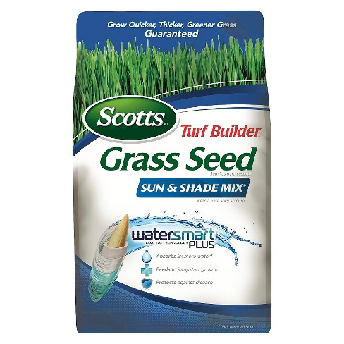 Scotts Turf Builder Grass Seed Sun & Shade Mix 3lb - image 1 of 4