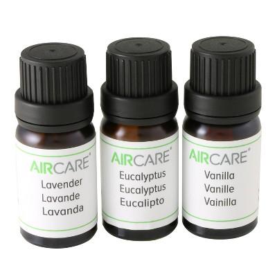 AIRCARE 3 bottles/10ml Variety Pack Essential Oil EOVEL103PK
