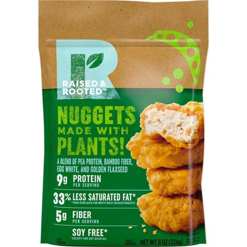 Raised & Rooted Alt-Protein Frozen Nuggets - 8oz - image 1 of 3