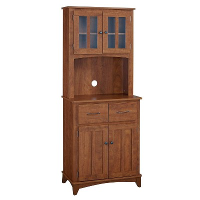 Traditional Microwave Cabinet Oak - Home Source