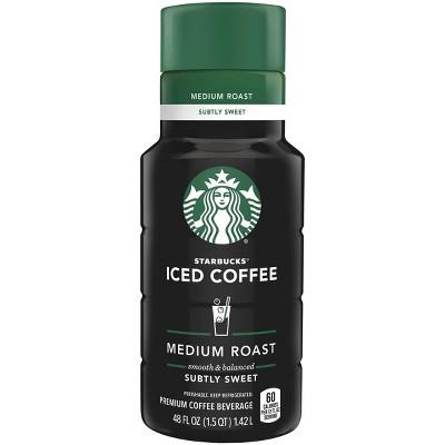 Starbucks Subtly Sweet Medium Roast Iced Coffee - 48 fl oz