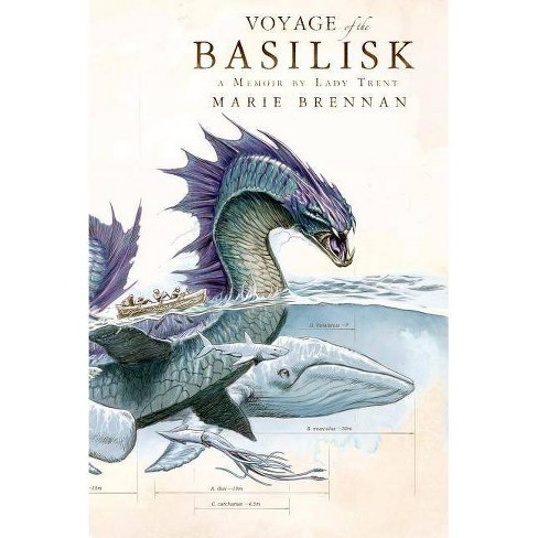 Voyage of the Basilisk - (Natural History of Dragons)by  Marie Brennan (Hardcover) - image 1 of 1