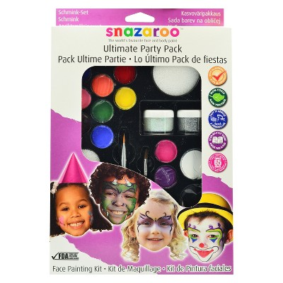 Face Painting Kit Ultimate Party Pack   Snazaroo