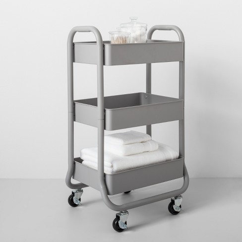 3 tier metal utility cart made by design target - Rolling Utility Cart