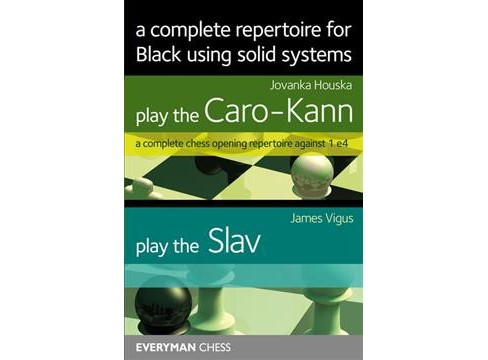 complete repertoire for Black using solid systems : Play the Caro-kann / Play the Slav -  (Paperback) - image 1 of 1