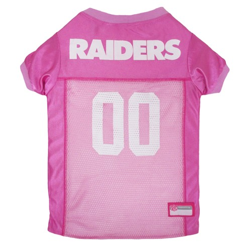 4d6693ebc NFL Pets First Pink Pet Football Jersey - Oakland Raiders   Target