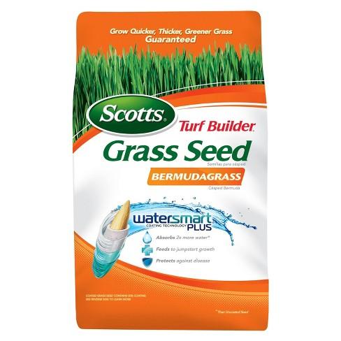 Scotts Turf Builder Grass Seed Bermudagrass 5lb Target