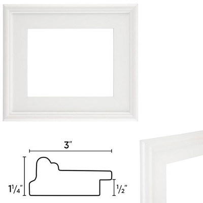 Creative Mark Plein Air Wooden Picture Frame, Various Colors and Sizes