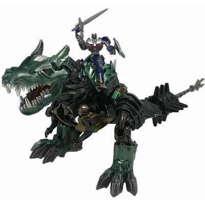 MB-09 Dinobot Grimlock and Optimus Prime | Transformers Movie 10th Anniversary Action figures