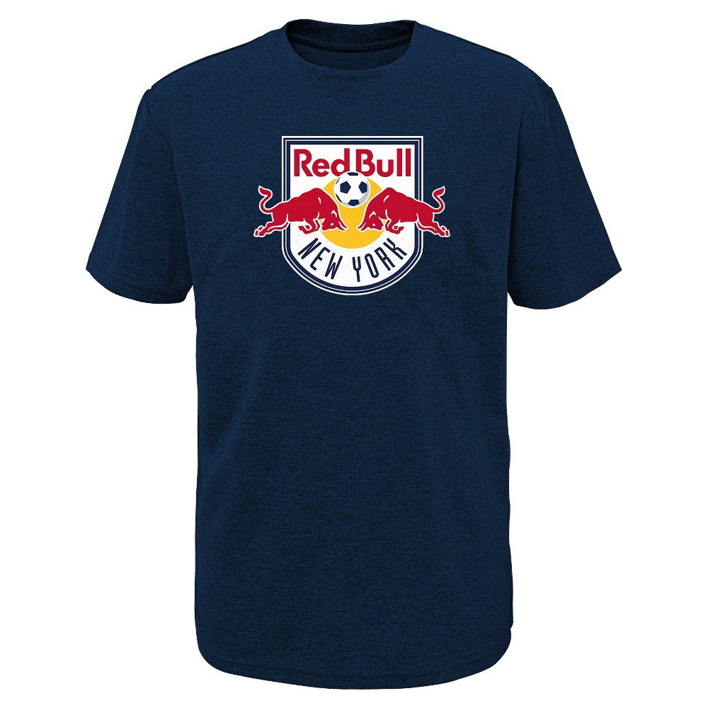 Mls Boys Poly T-Shirt New York Red Bulls - S, Multicolored