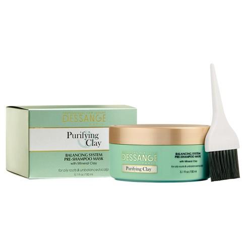 Dessange Paris Purifying Clay Pre-Shampoo Mask - 5.1oz - image 1 of 3