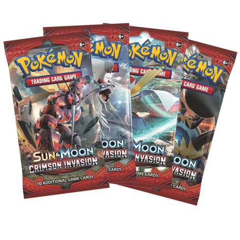 2017 Pokemon Sun Moon Blister Bundle Pack - image 1 of 1