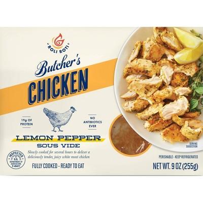Roli Roti Sous Vide Lemon Pepper Chicken - 9oz