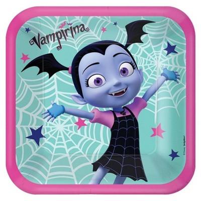 """Vampirina 9"""" 8ct Dinner Plates"""