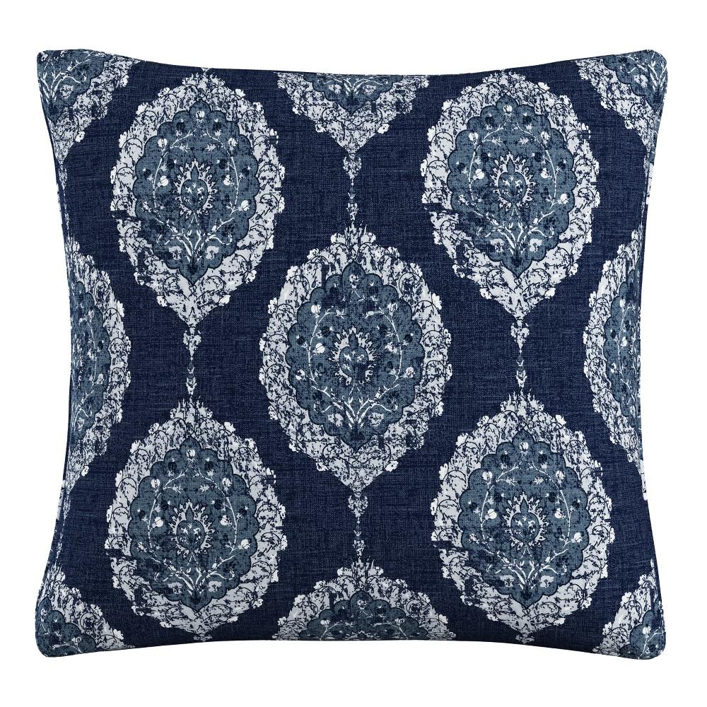 Throw Pillow Skyline Furniture Navy (Blue) White
