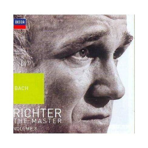Sviatoslav  Johann Sebastian; Richter Bach - Richter- The Master, Vol. 8: Bach (CD) - image 1 of 1