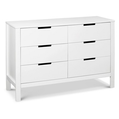 Carter's by DaVinci Colby 6-Drawer Dresser - White