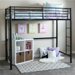 Twin Premium Metal Loft Bed - Saracina Home
