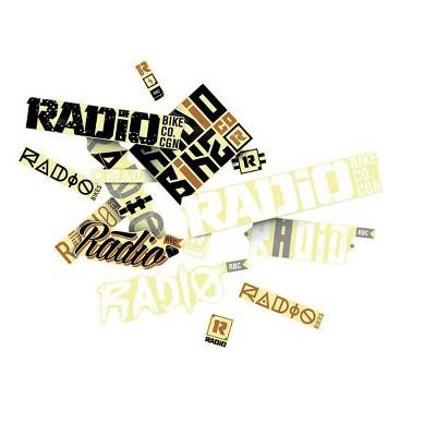 Radio Sticker Pack Sticker/Decal