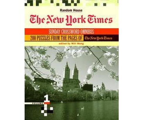 New York Times Sunday Crossword Omnibus (Vol 1) (Paperback) - image 1 of 1