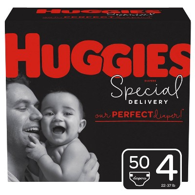 Huggies Special Delivery Disposable Diapers Super Pack - Size 4 - 50ct