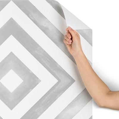 "2""x10"" Little Arrow Design Co Diamonds In Gray Wallpaper Gray - Deny Designs"