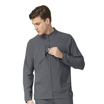 WonderWink Men's Front Warm Up Scrub Jacket