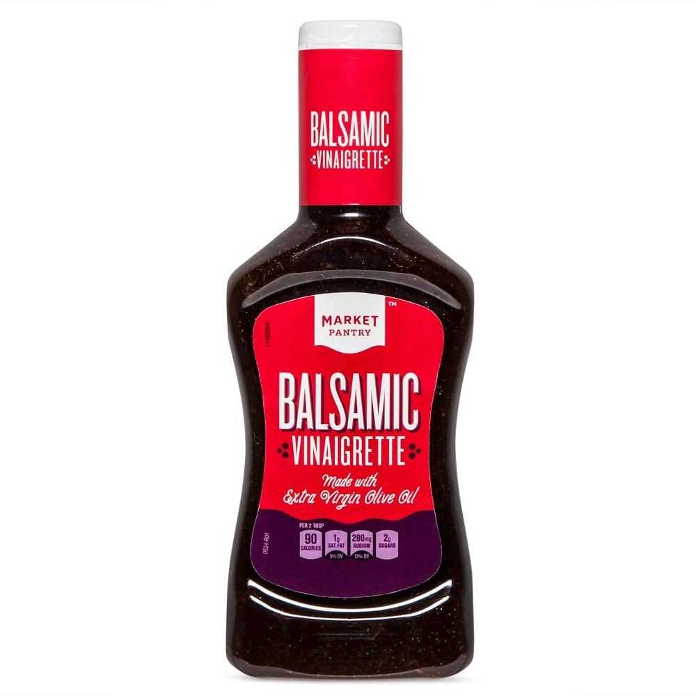 Balsamic Vinaigrette Dressing - 16oz - Market Pantry