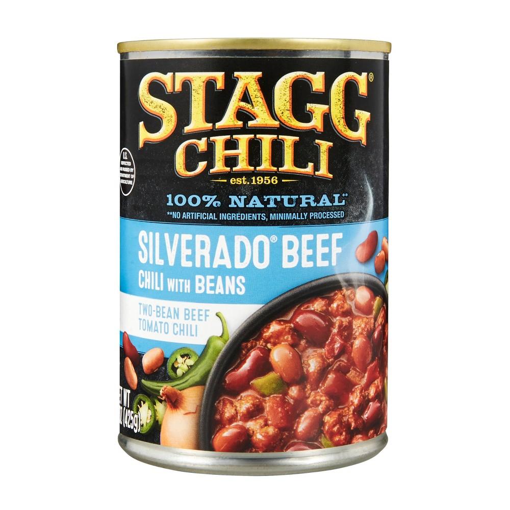 Stagg Chili Silverado Beef Chili with Beans 15 oz