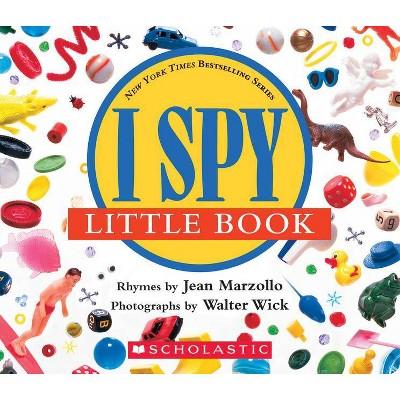 I Spy Little Book - by Jean Marzollo (Board Book)