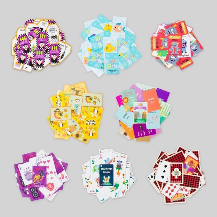 8pk Card Games - Bullseye's Playground™ - image 1 of 12