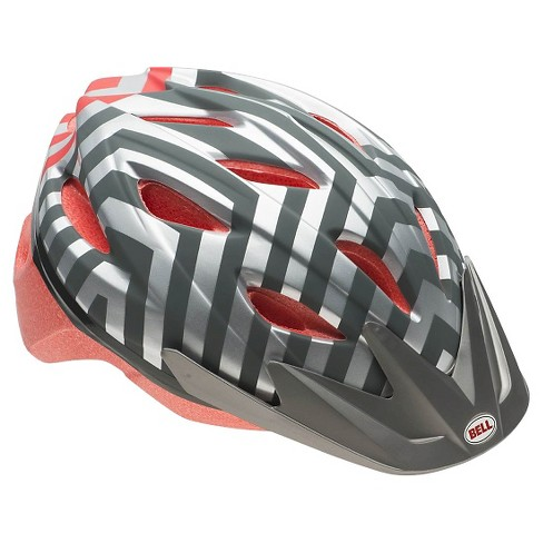Bell Athena Adult Bike Helmet - Silver Chevron - image 1 of 1