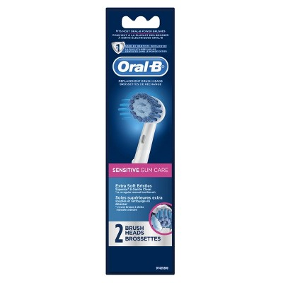 Oral-B Sensitive Teeth Power Electric Toothbrush Replacement Heads