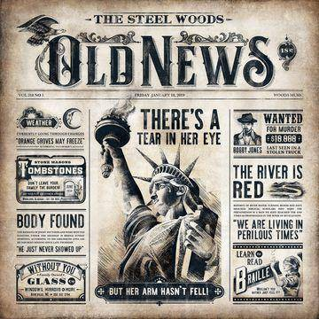 Steel Woods - Old News (CD)