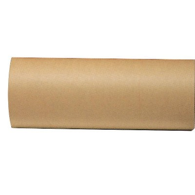 School Smart Butcher Kraft Paper Roll, 40 lbs, 36 Inches x 1000 Feet, Brown