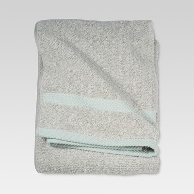 Ikat Bath Towels Gray/Green - Threshold™
