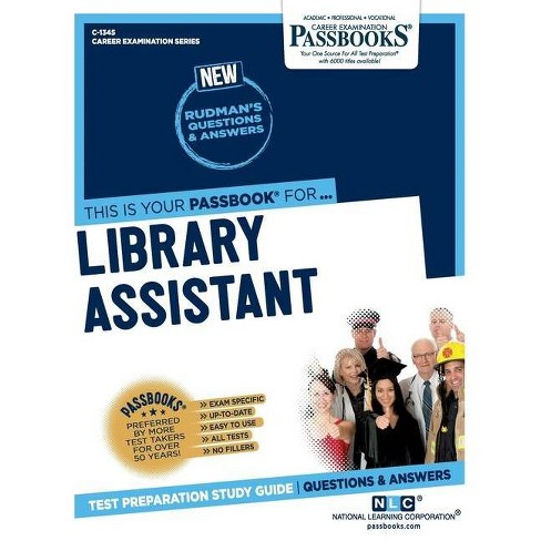 Library Assistant - by  National Learning Corporation (Paperback) - image 1 of 1